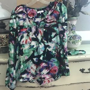 Pretty Blouse by Parker in muted Colors